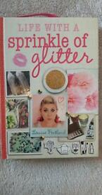 Sprinkle of glitter book