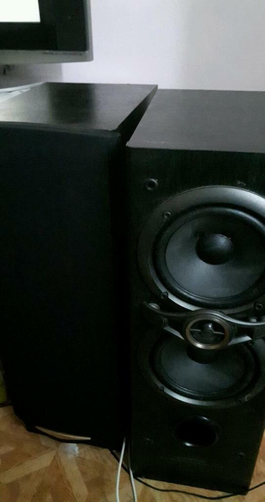 kenwood floor standing speakers. kenwood floor standing speakers mint