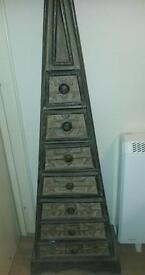 Pyramid Tribal Cabinet