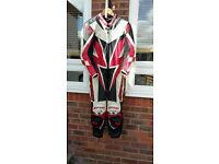 Spyke one piece leather suit UK 38 , EU 48 Size M
