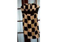 Lovely black/ white dress size 18 £7