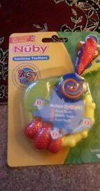 New Nuby shoothing teethers