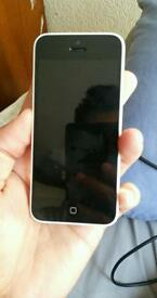 Iphone 5c 16gb white color unlocked As like brand new condition