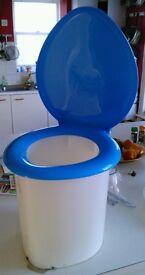 Racasan Vintage 70's camping toilet! Brand New!