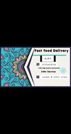 Sniff Fast food Charlie Delivery