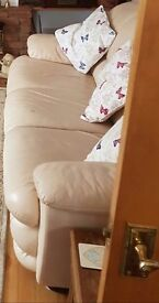 Sofa and armshair