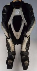 Postage Available *Dainese Bora *One Piece *Motorcycle Leather Suit *Track Race *EU 52 UK 42