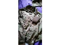 MTP army 2015 issue uniform with 2 jackets top and bottoms and belt