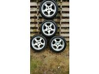 """Enzo cup 15"""" alloys 4x108 et 35 ford/ pug fitment"""
