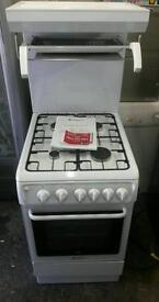 Hotpoint high level grill gas cooker. Can deliver