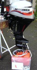 Mariner 8HP short shaft 4 Stroke Twin Cylinder Outboard Motor