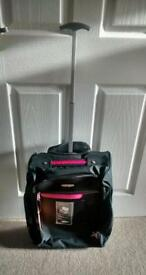 Hand luggage size suitcases