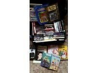 Huge mixed job lot 58 books hardback paperback sets resell market carboot ebay