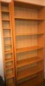 Ikea Billy Bookcase and cd rack