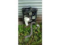 Honda civic 3 Dr water radiator fan bottle hoses