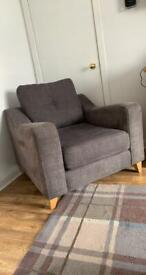 Dfs grey chair