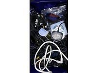 Job lot power cables chargers auto diagnostic usb cable