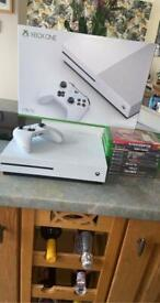 Xbox one s 1tb with 9 games bundle