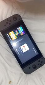 NINTENDO SWITCH WITH 128GB MEMORY CARD