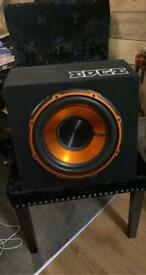 "Edge 900 watt 12"" sub and built in amp"
