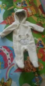 Beautiful baby winter suit / pram suit