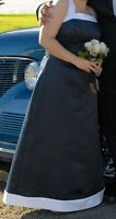 Petite Formal Navy Prom Dress size 14