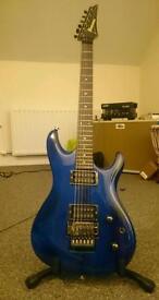 Ibanez JS1000 btb Signed by Satriani, Via.
