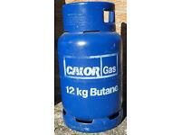 12KG Calor Gas Butane Gas Bottle, BBQ Gas Bottle, Cabinet Heater, Camping, Heating Gas Bottle, Calor