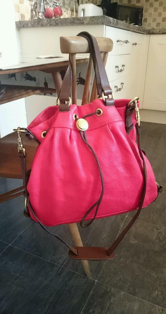 Genuine Mulberry pebbled leather tote bag  8133007cbb571