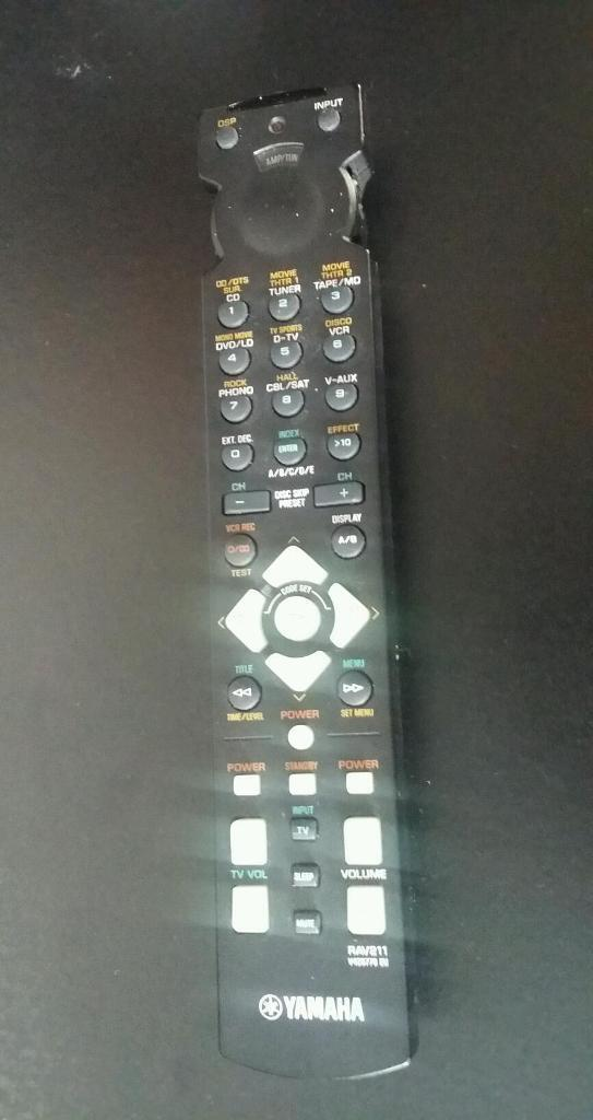Yamaha Receiver Remote Not Working