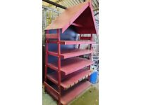 Large Wooden Retail / Stall / Shop Display Shelving Unit - ONO