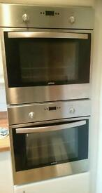 Double integrated oven and Hob, Cooker Hood in good working order