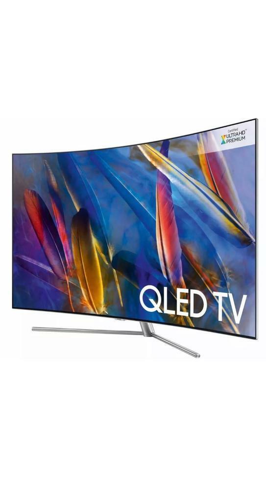 Samsung QE55Q7CAM QLED smart tv 4K | in Bournemouth, Dorset | Gumtree