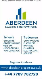Aberdeen leasing and renovations . Property management and investment management .