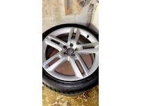 "19"" Genuine Audi S Line Alloy Wheels (5 Spoke/RS6 Style; will fit Volkswagen, Seat, Skoda etc.)"