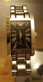 Emporio armani Man Watch used for 2 years £120