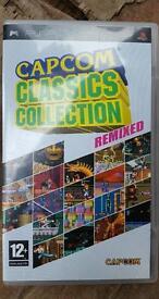 PSP CAPCOM CLASSIC COLLECTION