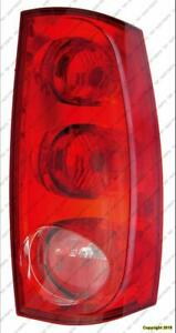 Tail Light Passenger Side Exclude Denali With Red Outer Lens GMC Yukon 2007-2014