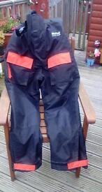 Mustard Viking Flotation Jacket and Trousers