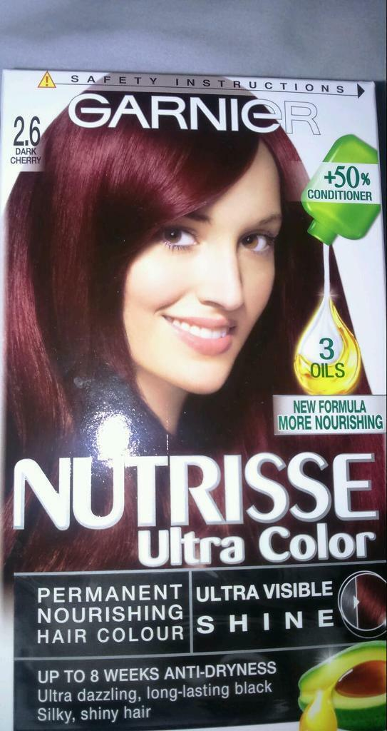Garnier Nutrisse Dark Cherry Hair Dye Brand New In Gosport