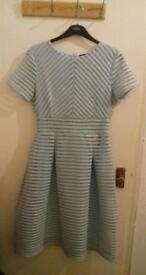 Size 14 blue dress