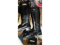 Russell and Bromley Black Boot