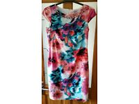 this stunning print shift dress from Joanna Hope. size uk 12