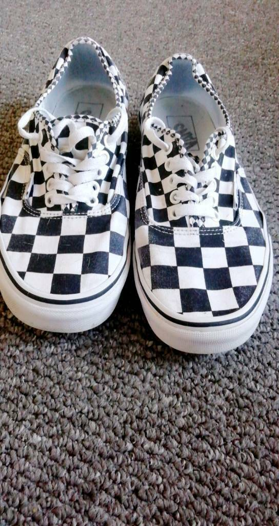 7355cbd9813 Vans OFF THE WALL shoes size 8 for sale