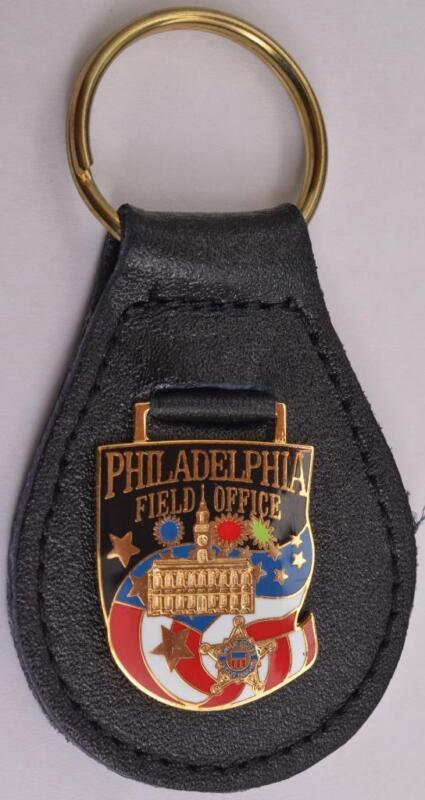 Bill Clinton Era Secret Service Philadelphia Pennsylvania Field Office Keychain