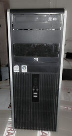 Cheap WiFi-enabled Intel dual core PC-HP/2x2.5GHz/4GB RAM/250GB HDD/Windows 7