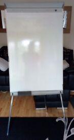 Height Adjustable Tripod Flip Chart Whiteboard