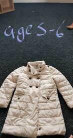 Girls coat age 5-6