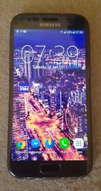 Samsung S7 32 black onyx unlocked