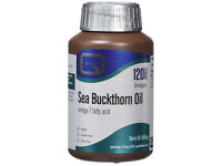 Sea Buckthorn Oil Capsules (Omega 7 Fatty Acid) 120 capsules